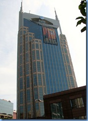 9491 Nashville, Tennessee - Discover Nashville Tour - downtown Nashville - at&t 'batman' building