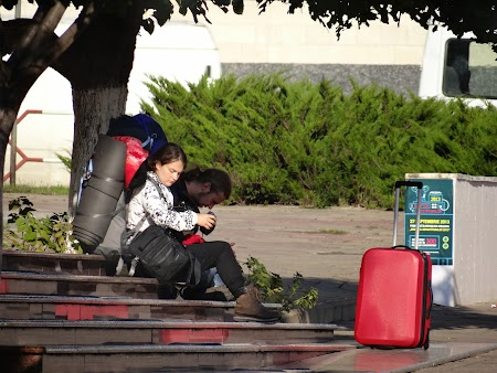 Backpackeri in Chisinau