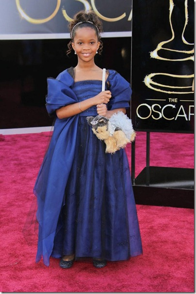 2013 Oscar's Best Beauty Hits... And Some Misses~Quvenzhane Wallis