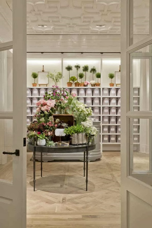 club monaco flower shop