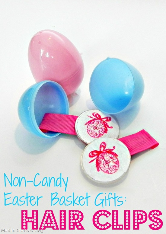 Non-Candy Easter Basket Gifts Hair Clips