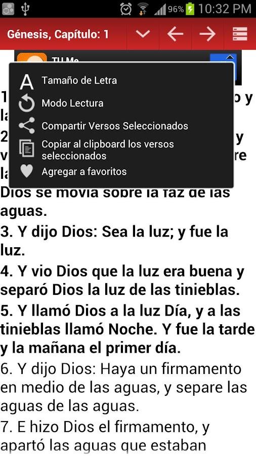 Biblia Reina Valera Gomez 2010- screenshot