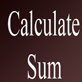 Calculate Sum
