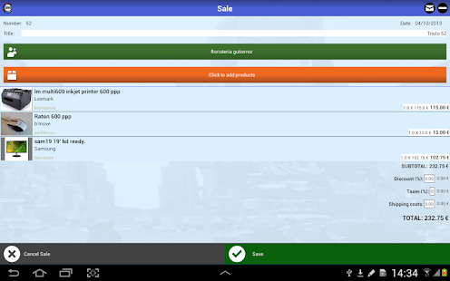 Sales on the Move (Free CRM) - screenshot thumbnail