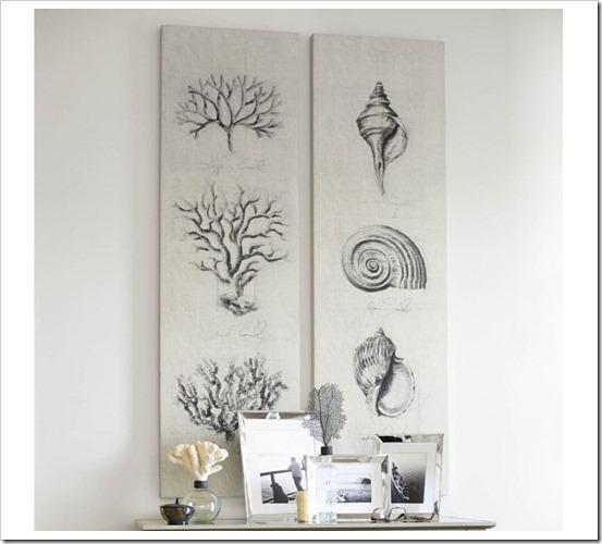 coral sketch art