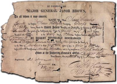 沉重的使用威胁要从1812年战争中摧毁脆弱的养老金文件