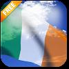 3D Ireland Flag Live Wallpaper