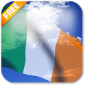 3D Ireland Flag Live Wallpaper