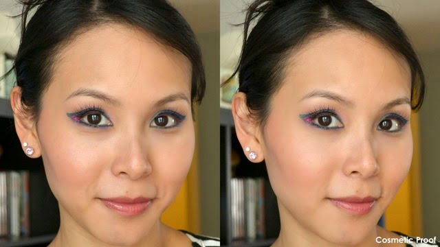 shu uemura Drawing Pencils Makeup Look (3)