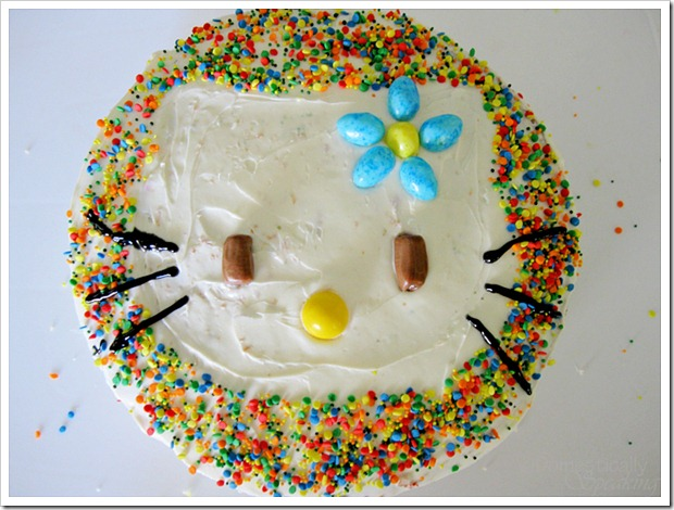 Easy Kello Kitty Cake
