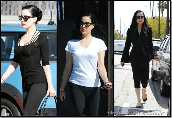 dita after work out
