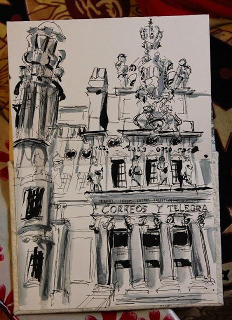 Blog Salida Urban Uno1ª Sketching El De 2DeHYWE9I