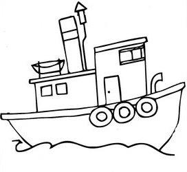 Colorear Dibujos De Barcos
