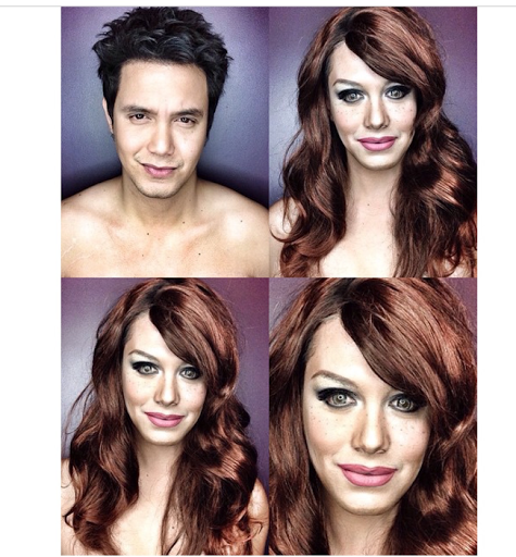 PHOTOS: Dad Transforms Himself Into Celebrities Using Makeup And Wigs 31