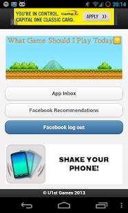 What game should I play today? - screenshot thumbnail