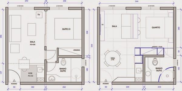 Moderno dise o de un apartamento de 30 metros cuadrados for Diseno de apartamento de soltero