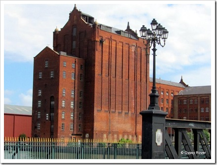 Old grain warehouse at Alexandra Dock.