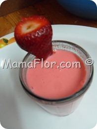 Postre de Yogurt con leche