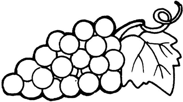 Dibujos De Fruta Para Colorear