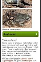 Screenshot of Reptielen en Amfibieën