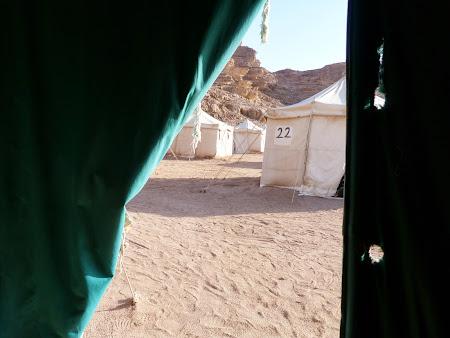 Imagini Wadi Rum: Privire din cort