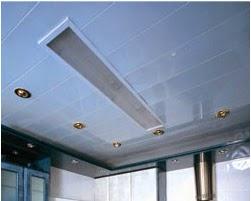 Falsos techos de aluminio blanco mate