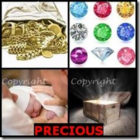 PRECIOUS- 4 Pics 1 Word Answers 3 Letters
