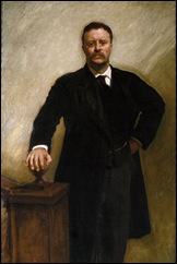 theodore roosevelt official portrait