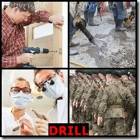 DRILL- 4 Pics 1 Word Answers 3 Letters