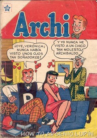Actualización 20/12/2018: Trite agrega 86 números al clásico de Archi-Archie. Un agradecimiento a las siguientes paginas por el escaneo de los números: La Mansión del CRG, El Chico de los Tejados, Historietas Viejas, Blog Novaro y Mr. GAG Comics.