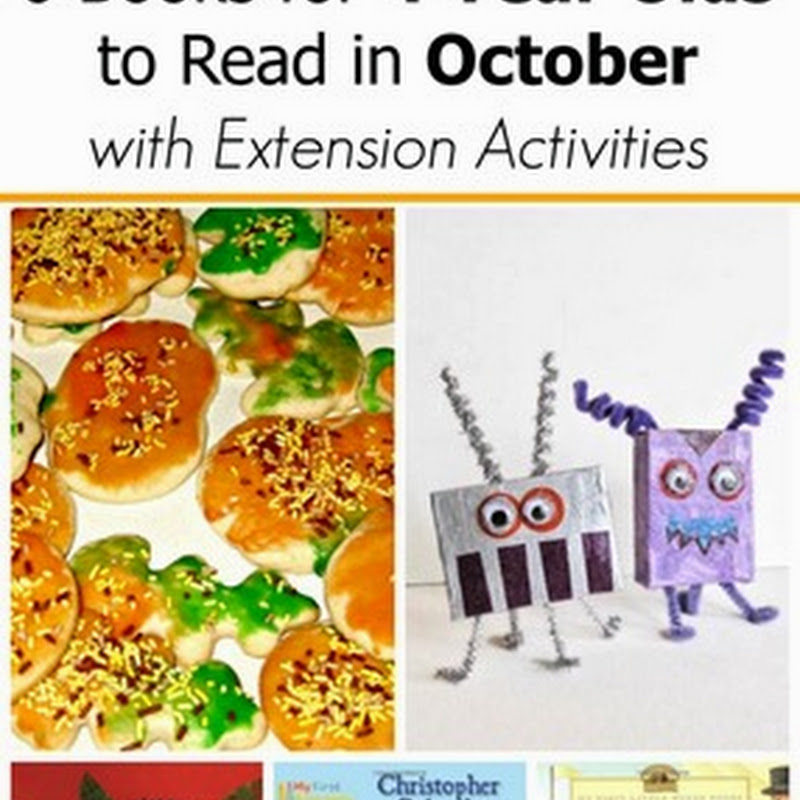6 October Books for 4 Year Olds