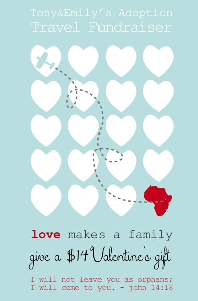 Love makes a family  adoption