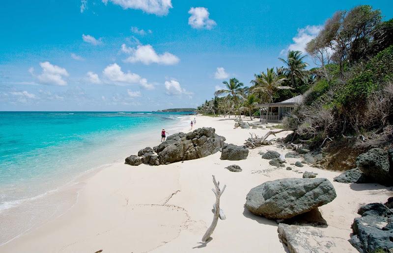 Simplicity Beach in Mustique.