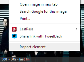 Chrome 30 search by image