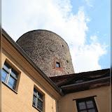 Burgturm, Blick vom Burghof der Burg Rabenstein