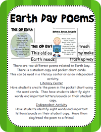 Wild about Teaching!: Earth Day Mini-Unit!