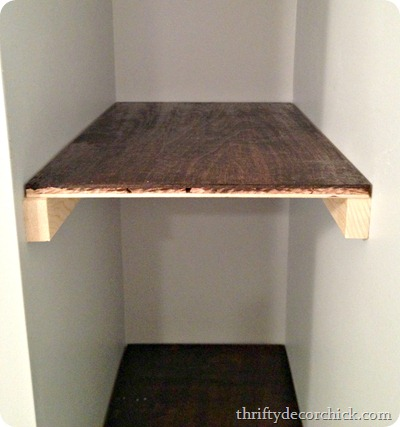 diy wood floating shelves
