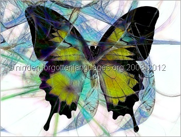 Entangled Butterfly by Karadne - © forgottenlanguages.org