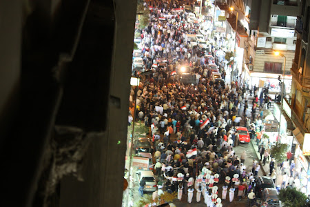 In memoria martirilor revolutiei din Cairo