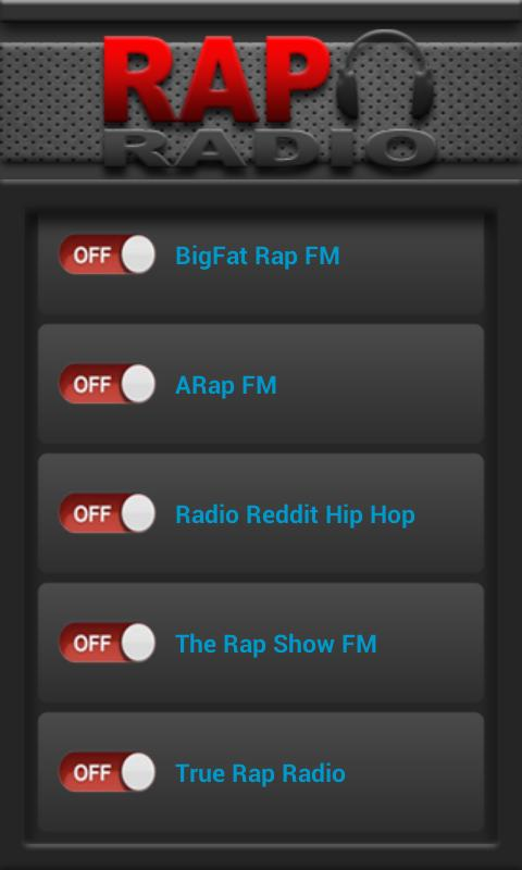 Rap Radio - screenshot