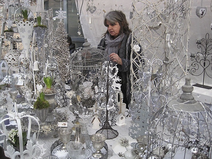 Silver White Christmas Decorations