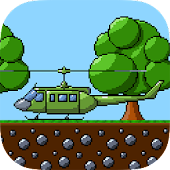 RETRY Helicopter Classic 8 bit