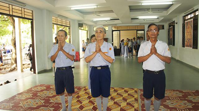 DSC06282 Lễ Hiệp kỵ   Lễ Huý Nhật Cư sĩ Sáng lập viên GĐPT Việt Nam   Tâm Minh Lê Đình Thám