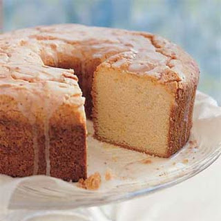 Sour Cream-Lemon Pound Cake.