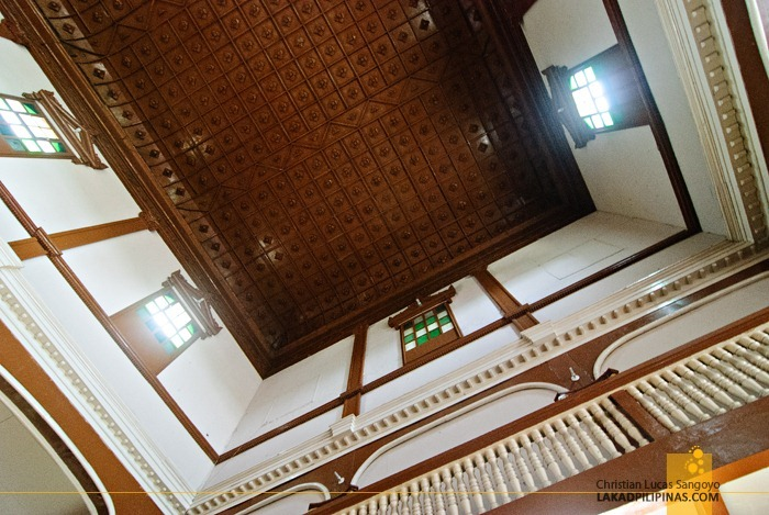Dipolog Cathedral Ceiling Detail