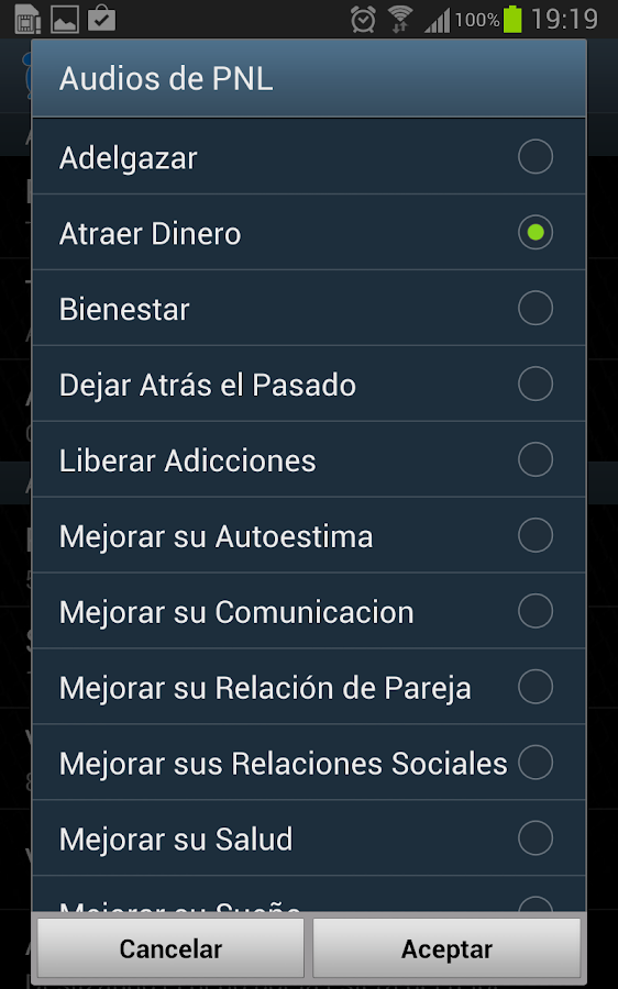 Despertador PNL- screenshot