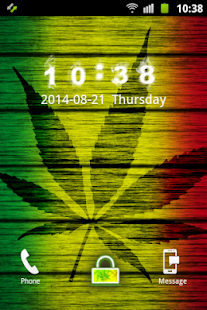 Weed Reggae GO Locker