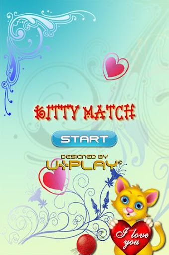 Kitty Match Game For Kids Free