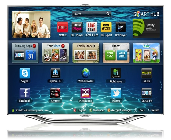 smart tv-samsung
