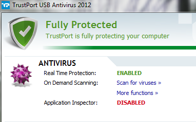 TrustPort Antivirus USB 2012